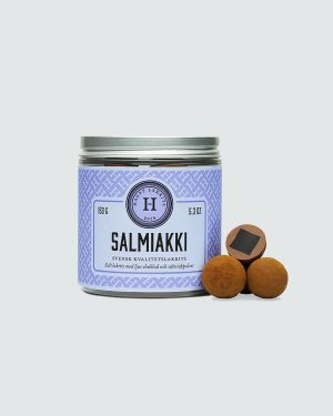 Salmiakki - Chocolate coated liquorice with salmiak